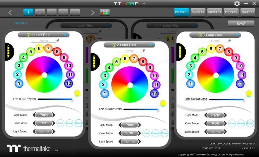 Thermaltake Floe DX 240 TT Software