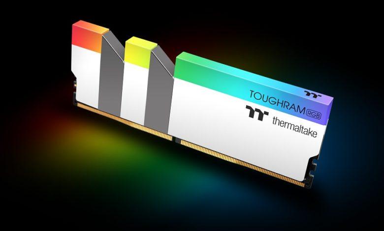 Photo of Thermaltake lanza su kit de memoria TOUGHRAM RGB DDR4