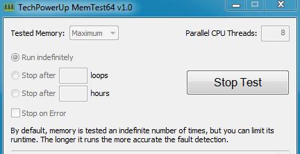 Test PC Memtest