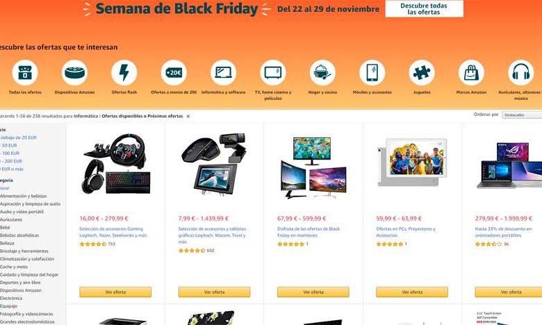 Photo of Black Friday de hardware en Amazon: sábado 23 (ofertas previas)