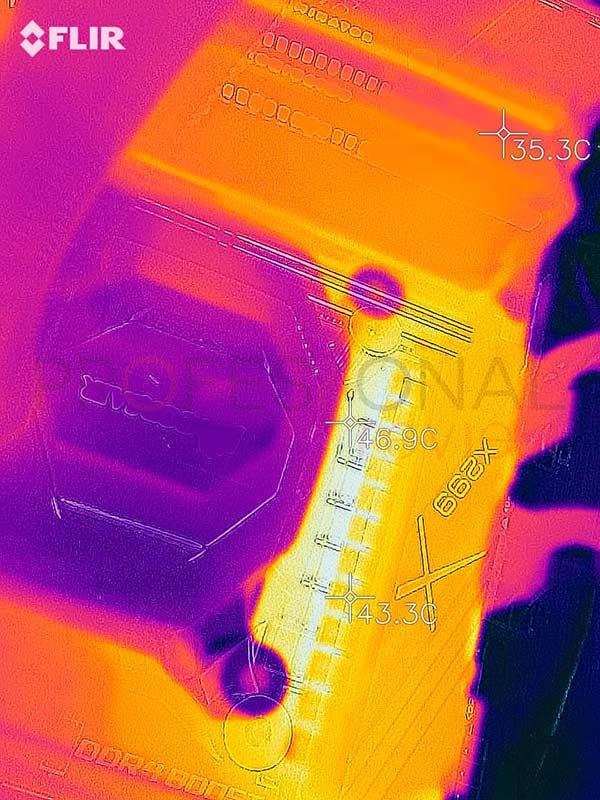 X299X AORUS XTREME Waterforce temperaturas