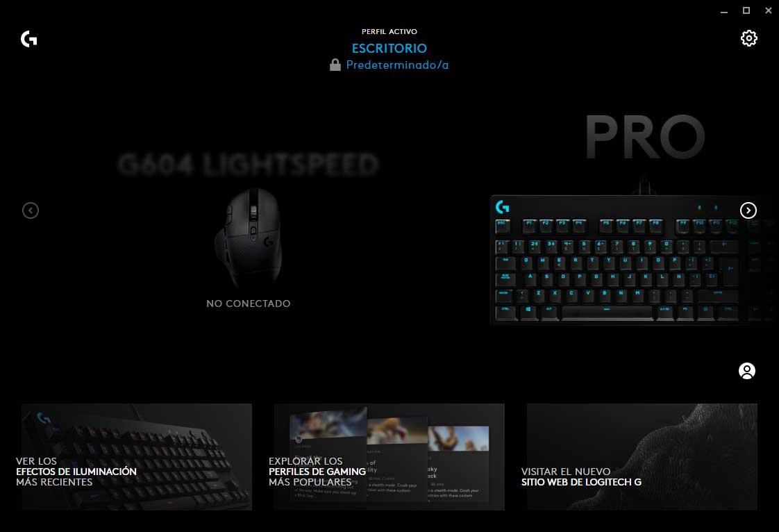 teclado y ratón Logitech