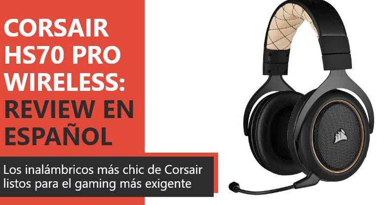 Photo of Corsair HS70 Pro Wireless Review en Español (Análisis completo)