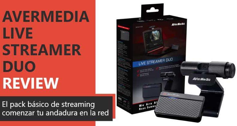 Photo of Avermedia Live Streamer Duo Review en Español (análisis completo)