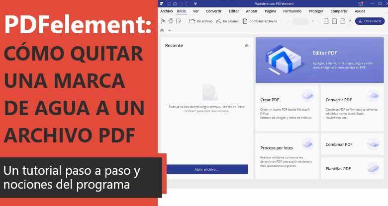 Photo of PDFelement: Review en Español (análisis completo)