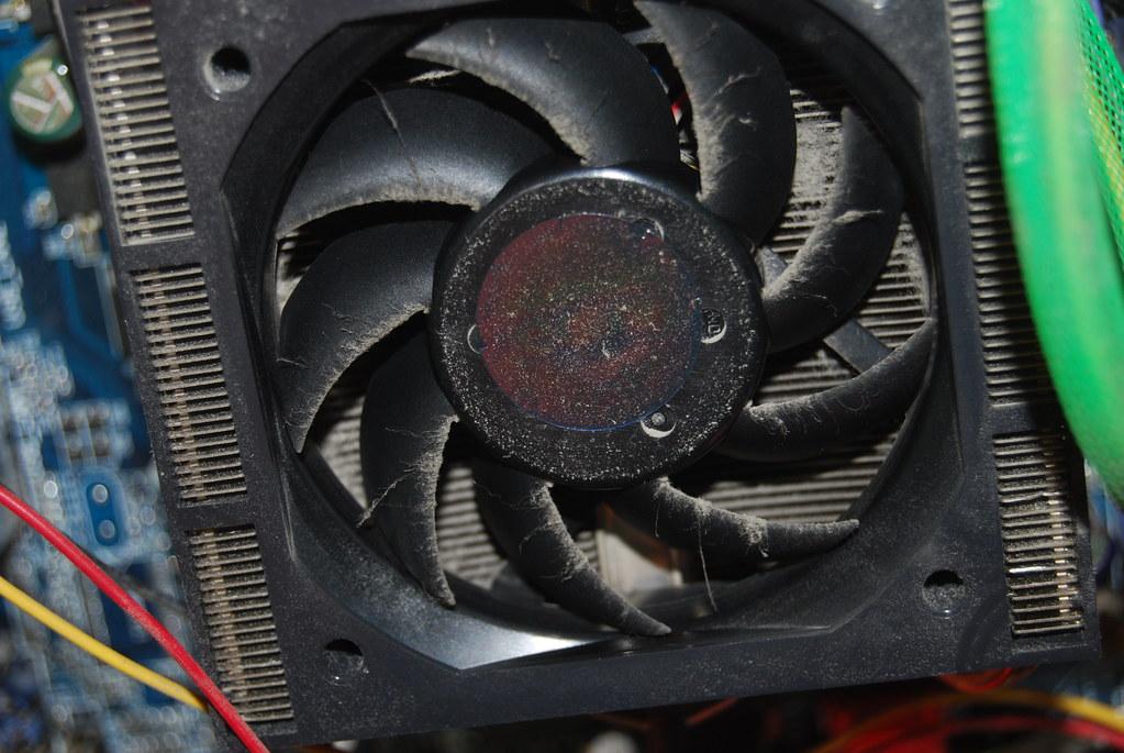 como reparar un ventilador pc