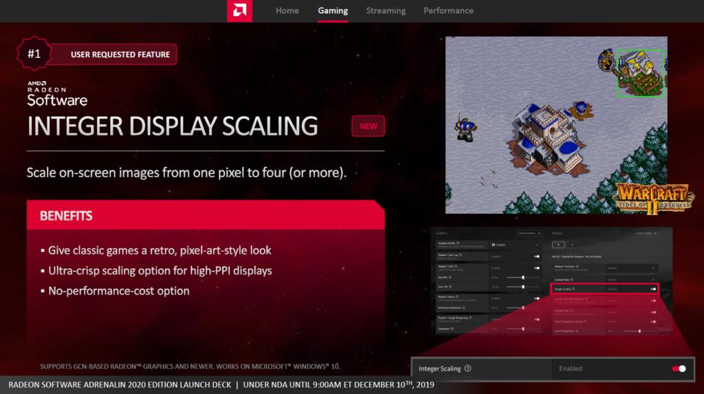 display scaling