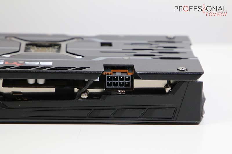 AMD Radeon RX 5500 XT Alimnentación