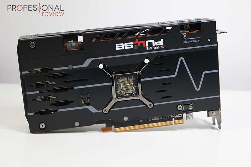 AMD Radeon RX 5500 XT Backplate
