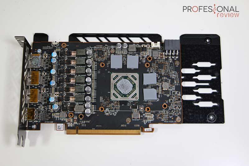 AMD Radeon RX 5500 XT PCB