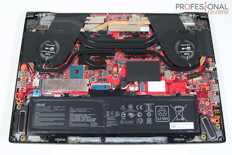 Asus ROG Zephyrus M GU502GV Hardware