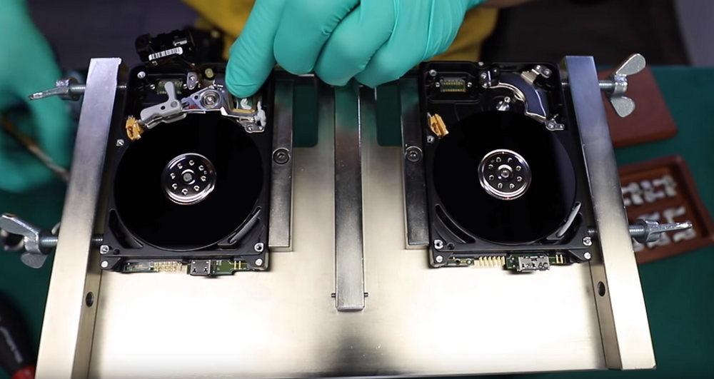 recuperar datos disco duro laboratorio