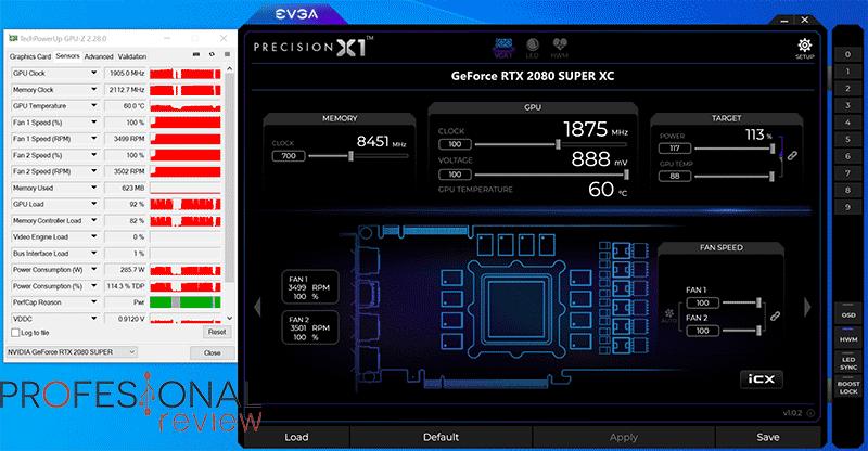 EVGA RTX 2080 Super XC Gaming Overclocking