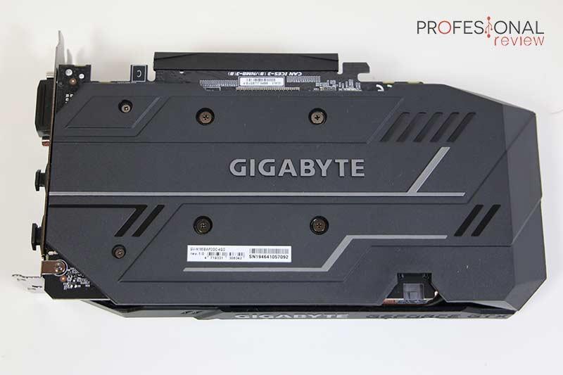 Gigabyte GTX 1650 Super OC Backplate