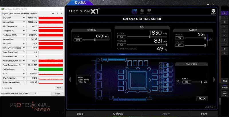 Gigabyte GTX 1650 Super OC Overclocking