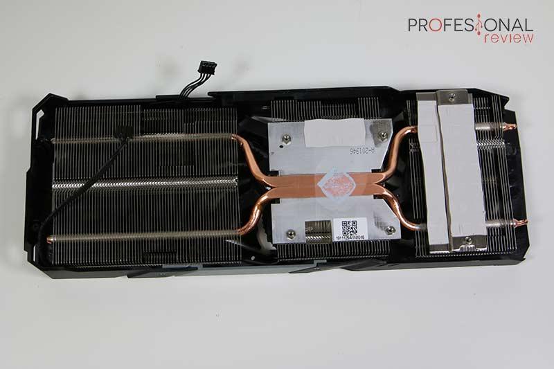 Gigabyte RX 5500 XT Gaming OC 8G Radiador