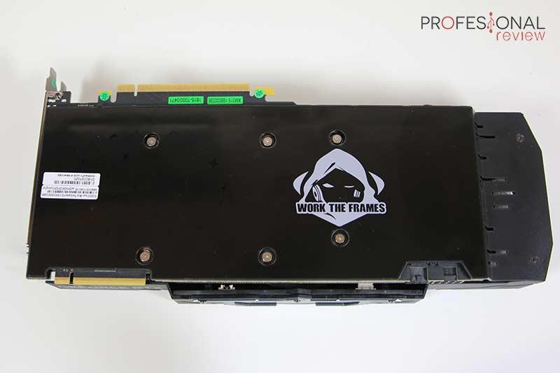 KFA2 RTX 2070 Super Work The Frames Edition Backplate