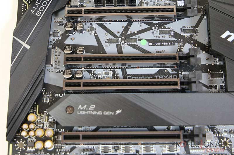 MSI Creator TRX40 PCIe