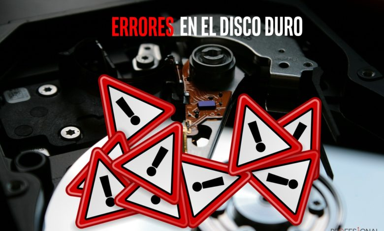 Photo of Error disco duro