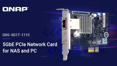 Photo of QNAP presenta la tarjeta NIC 5GBASE-T de 4 velocidades