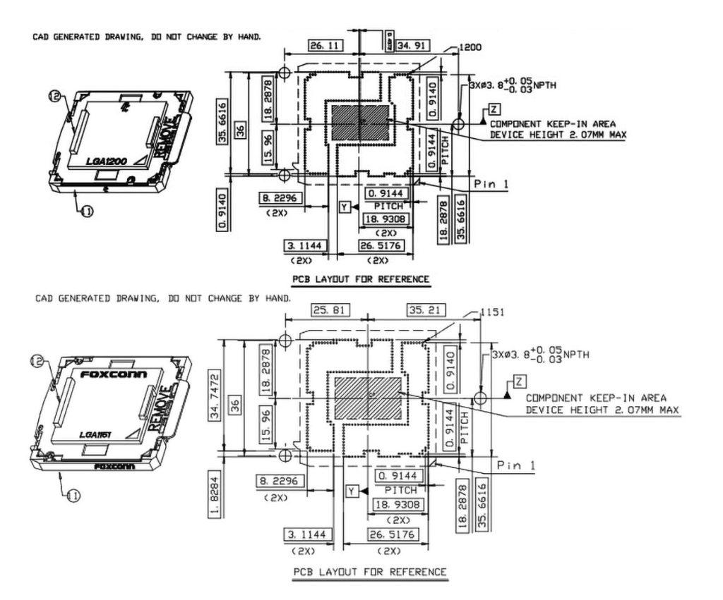 diseño LGA 1200
