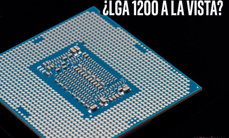 Photo of El socket Intel LGA1200 parece compatible con disipadores LGA115x
