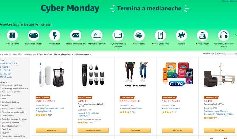 Photo of Cyber Monday Amazon 2019: hardware y tecnología