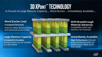 Photo of Intel 3D XPoint de segunda generación podría retrasarse a 2021