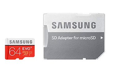 Samsung EVO 64 gb tarjeta micro sd