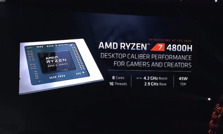 Photo of AMD Ryzen 4000 APU se anuncia con mejoras del 30% de IPC