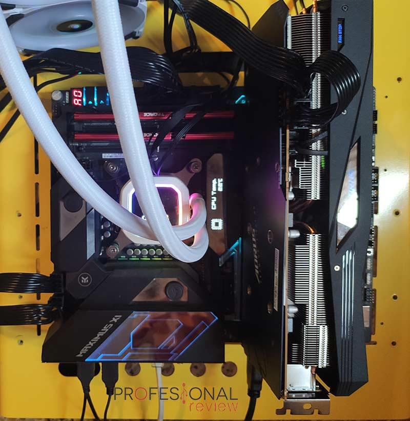 AORUS Radeon RX 5700 XT 8G Montaje