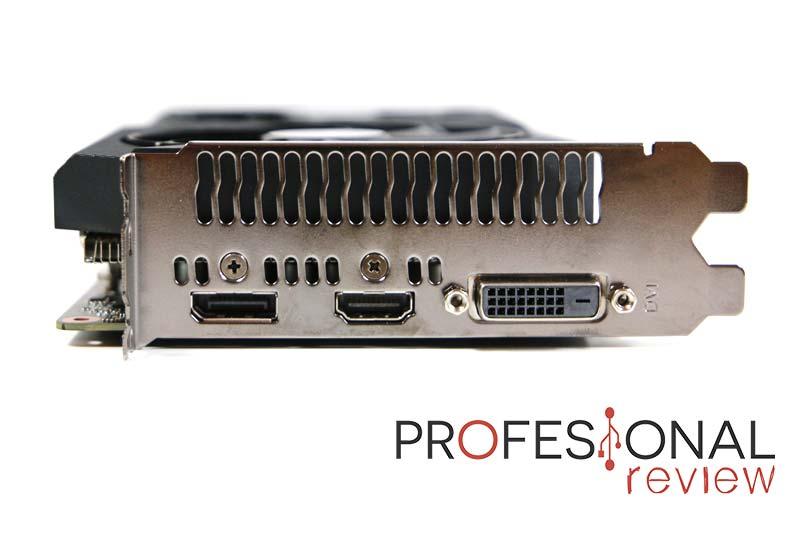 Asus Dual RTX 2070 8G Mini Puertos
