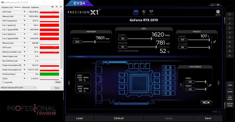 Asus Dual RTX 2070 8G Mini Overclocking