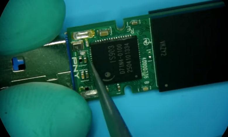 Photo of Así recuperan los datos de un USB en un laboratorio