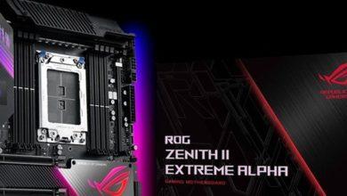 Photo of Asus ROG Zenith II Extreme Alpha esta diseñada para OC de 64 núcleos
