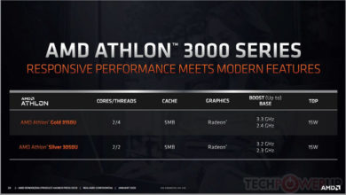 Photo of Athlon 3000 Gold y Silver, Nuevos CPUs para portátiles de bajo coste