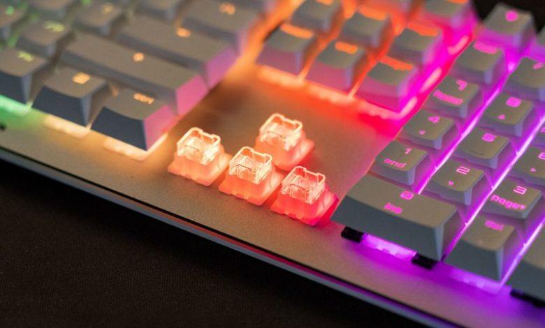 Photo of Cherry presenta las teclas mecánicas VIOLA para teclados de bajo coste