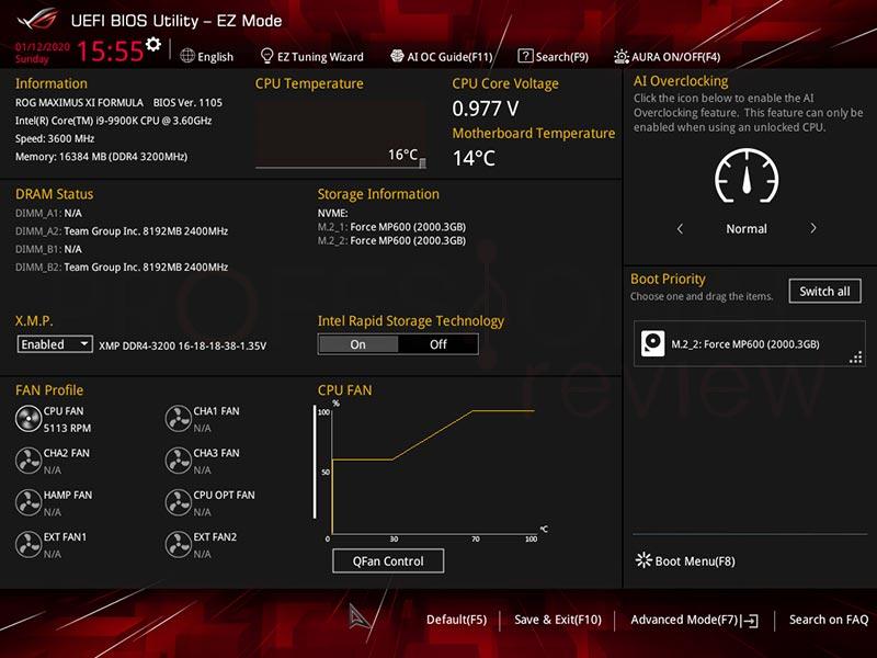 Configurar RAID en placa Intel paso02