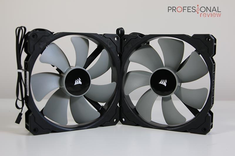 Corsair iCUE H115i RGB Pro XT Ventiladores