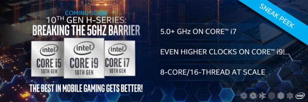 10ª gen portátiles intel Core i5, i7 i9