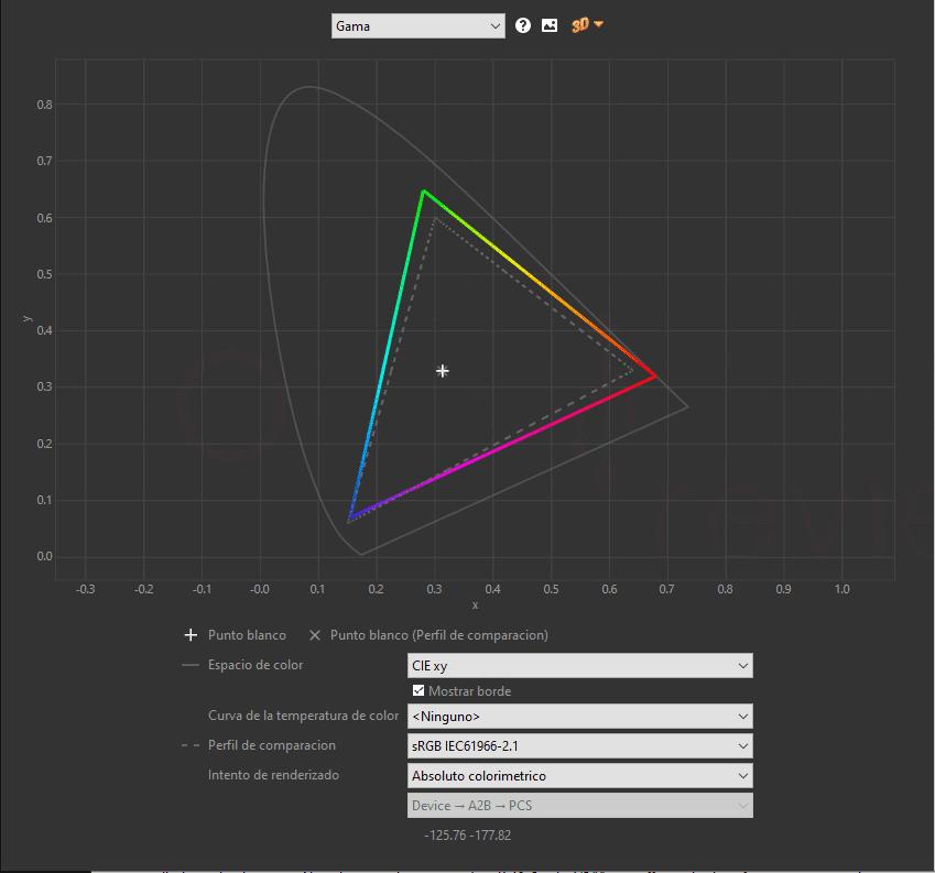 MSI Optix MAG272CQR sRGB