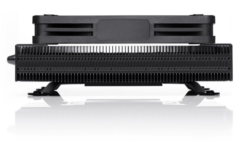 Photo of Noctua NH-L9a-AM4 Chromax.Black, un elegante refrigerador en SFF