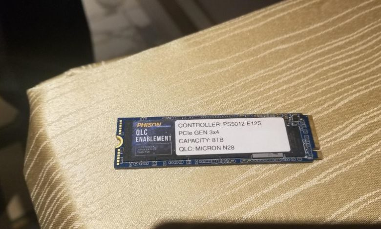 Photo of Phison presenta sus unidades SSD M.2 de hasta 8 TB PCIe 4.0