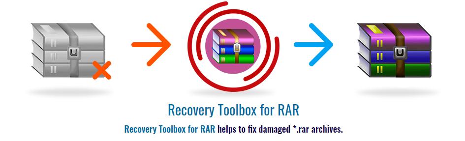 repara archivo RAR