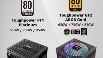 Photo of Thermaltake Toughpower PF1 Platinum y GF2 ARGB Gold anunciadas