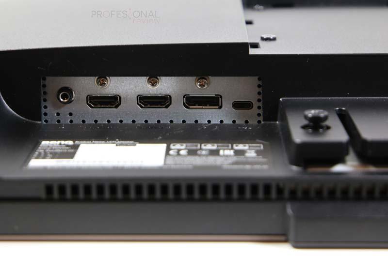 BenQ EW3280U puertos