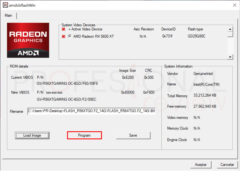 Flashear BIOS de GPU AMD paso09