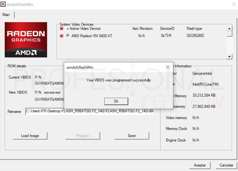 Flashear BIOS de GPU AMD paso10