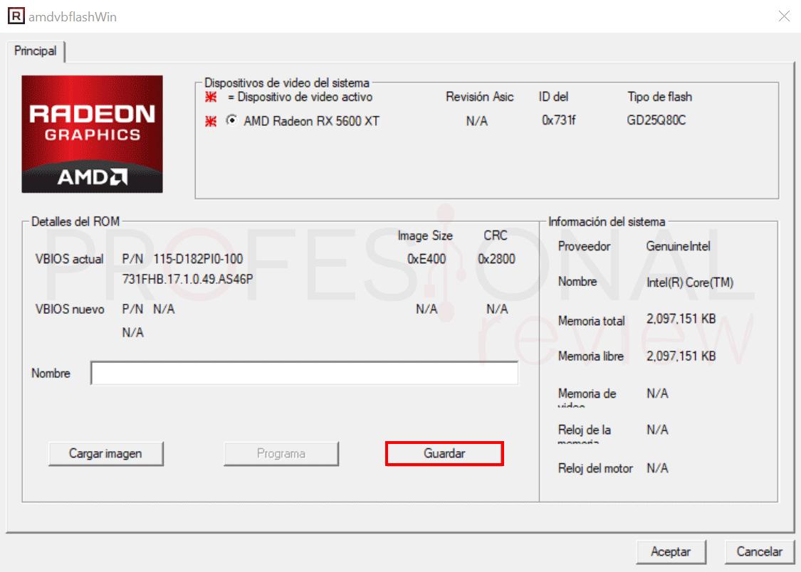 Flashear BIOS de GPU AMD paso06