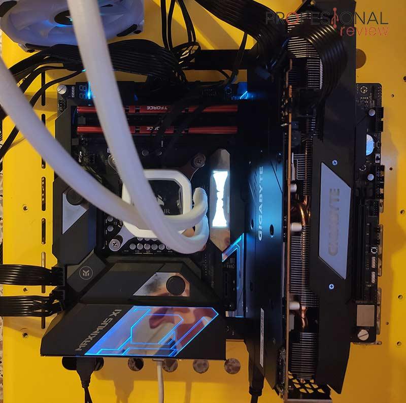 Gigabyte RX 5600 XT Gaming OC Montaje